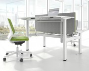 Electric adjustable office desks